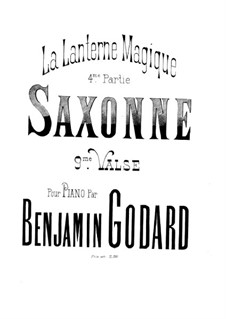 Lanterne magique, Op.110: Saxonne by Бенжамин Годар