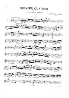 Струнный квартет No.1 соль минор, Op.33: Струнный квартет No.1 соль минор by Бенжамин Годар