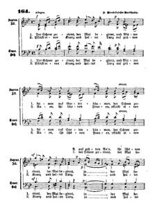 Шесть песен, Op.41: Nr.5 Der Schnee zerrint by Феликс Мендельсон-Бартольди