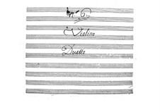 Дуэт No.6 для скрипки и альта: Дуэт No.6 для скрипки и альта by Антонио Лорензити