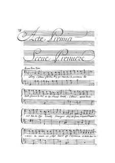 Кадм и Гермиона, LWV 49: Акт I by Жан-Батист Люлли