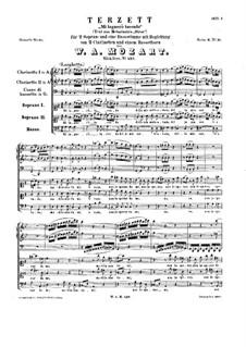 Mi lagnerò tacendo, K.437: Mi lagnerò tacendo by Вольфганг Амадей Моцарт