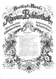 Концерт для фортепиано с оркестром No.15 си-бемоль мажор, K.450: Каденция к первой части by Вольфганг Амадей Моцарт
