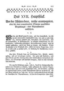 Опыт наставления по игре на поперечной флейте: Глава XVII by Иоганн Иоахим Квантц