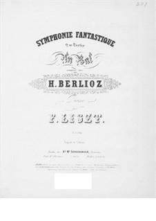 Фантастическая симфония, H.48 Op.14: Часть II, для фортепиано by Гектор Берлиоз