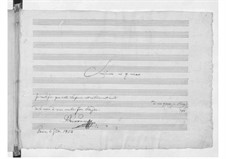 Симфония No.83 соль минор 'Курица', Hob.I/83: Партитура by Йозеф Гайдн