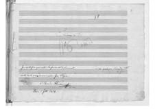 Симфония No.86 ре мажор, Hob.I/86: Партитура by Йозеф Гайдн