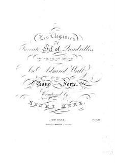 Les élégances, Op.49: Les élégances by Анри Герц