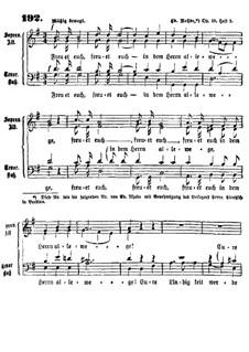 Freuet euch in dem Herrn: Freuet euch in dem Herrn by Эдуард Роде