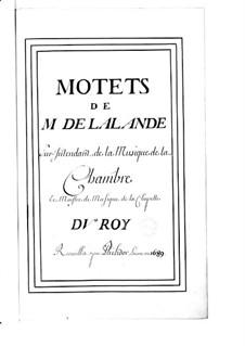 Большие мотеты (Коллекции): Том VIII by Мишель Ришар де Лаланд