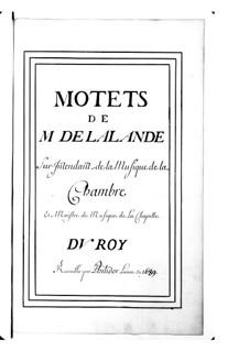 Большие мотеты (Коллекции): Том IX by Мишель Ришар де Лаланд