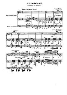 Вариации на тему марша из оперы 'Пуритане' Беллини, S.392: Вариации на тему марша из оперы 'Пуритане' Беллини by Франц Лист