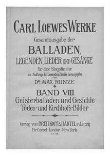 Полное собрание баллад, легенд и песен: Том VIII by Карл Лёве