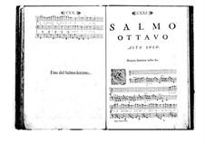 Поэтически-гармоническое вдохновение для голосов и бассо континуо: Том I. Псалм VIII by Бенедетто Марчелло