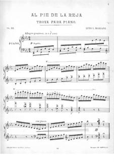 Al Pie de la Reja, Op.33: Al Pie de la Reja by Luis Leandro Mariani