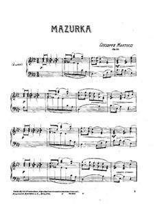Мазурка, Op.35: Мазурка by Джузеппе Мартуччи