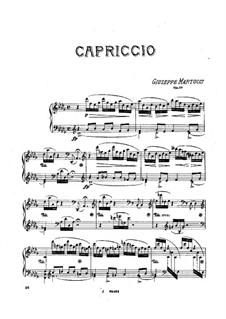 Каприччио, Op.39: Каприччио by Джузеппе Мартуччи