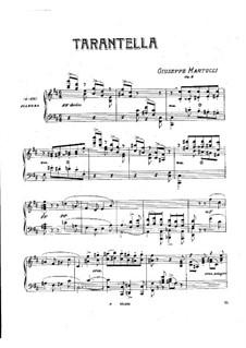 Тарантелла, Op.6: Тарантелла by Джузеппе Мартуччи