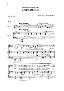 Amoureuse: In D Flat Major by Жюль Массне