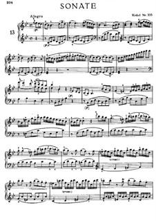 Соната для фортепиано No.13 си-бемоль мажор, K.333: Для одного исполнителя by Вольфганг Амадей Моцарт
