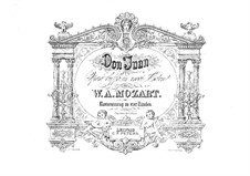 Вся опера: Для фортепиано в 4 руки by Вольфганг Амадей Моцарт