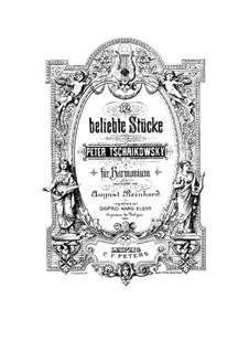 Концерт для скрипки с оркестром ре мажор, TH 59 Op.35: Часть II, для фигармонии by Петр Чайковский