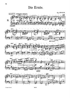 No.8 Август (Жатва): Версия для фисгармонии by Петр Чайковский