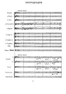 Вся опера: Интродукия и действие I by Петр Чайковский