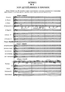 Вся опера: Действие I, сцена I (No.1-6) by Петр Чайковский