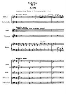 Вся опера: Действие I, сцена II (No.7-10) by Петр Чайковский
