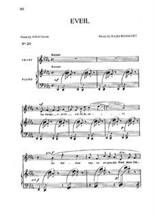 Éveil: In D Flat Major by Жюль Массне