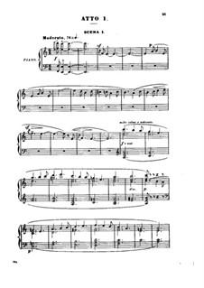 Гризельда: Акт I, для солистов, хора и фортепиано by Жюль Массне