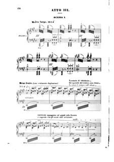 Гризельда: Акт III, для солистов, хора и фортепиано by Жюль Массне