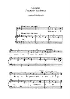 L'heureuse souffrance: In B Minor by Жюль Массне