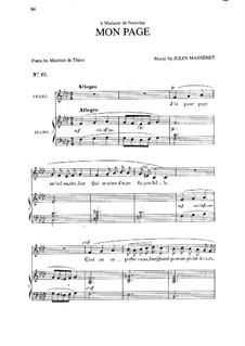 Mon page: In F Minor by Жюль Массне