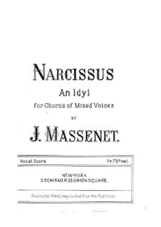 Нарцисс: Нарцисс by Жюль Массне