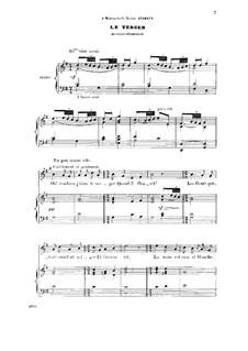 Три мелодии, два дуэта и трио, Op.2: No.3 Le verger by Жюль Массне