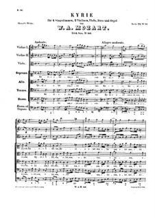 Кирие фа мажор: Кирие фа мажор by Вольфганг Амадей Моцарт