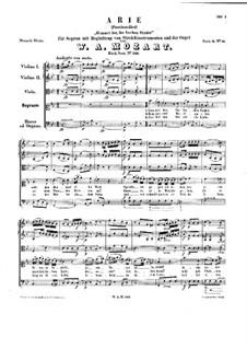 Kommet her, ihr frechen Sünder, K.146: Kommet her, ihr frechen Sünder by Вольфганг Амадей Моцарт