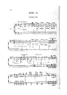 Король Лахорский: Акт II. Аранжировка для голосов и фортепиано by Жюль Массне