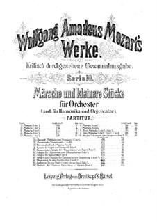 Марш ре мажор, K.189: Марш ре мажор by Вольфганг Амадей Моцарт