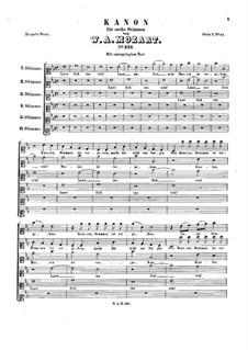 Давайте веселиться, K.231: Давайте веселиться by Вольфганг Амадей Моцарт