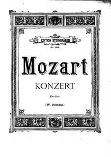 Концерт для фортепиано с оркестром No.9 ми-бемоль мажор 'Jeunehomme', K.271: Аранжировка для 2 фортепиано в 4 руки by Вольфганг Амадей Моцарт