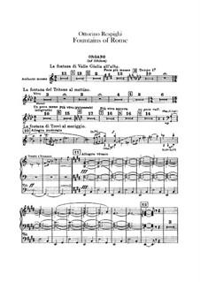 Фонтаны Рима: Партия органа by Отторино Респиги