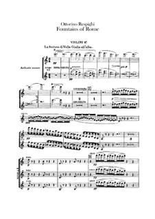 Фонтаны Рима: Скрипка I by Отторино Респиги