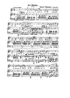 Три стихотворения, Op.30: No.3 Der Hidalgo (L'Hidalgo) by Роберт Шуман