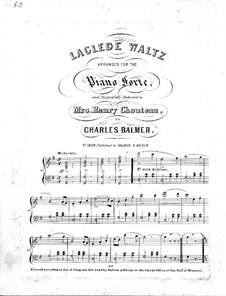 Laclede Waltz: Laclede Waltz by Charles Balmer