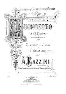 Струнный квинтет ля мажор: Партии by Антонио Бадзини