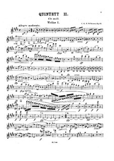 Фортепианный квинтет No.2, Op.57: Фортепианный квинтет No.2 by Карл Георг Петер Греденер