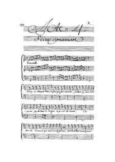 Кадм и Гермиона, LWV 49: Акты IV- V by Жан-Батист Люлли